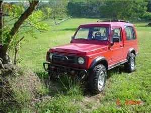 photo Suzuki Samurai