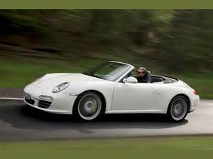 photo Porsche 911 carrera cabriolet [997]