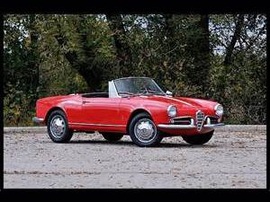 photo Alfa Romeo Giulietta Spider