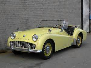 photo Triumph TR3