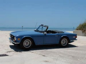 photo Triumph TR6