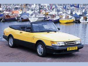 photo Saab 900 cabriolet
