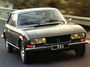 photo Peugeot 504 coupé
