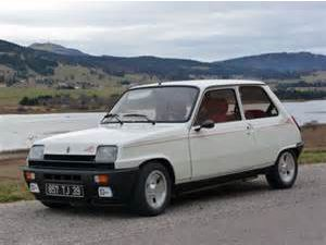 photo Renault R5 alpine