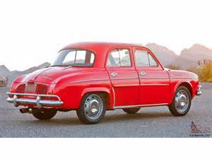photo Renault Dauphine