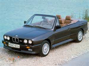 photo BMW Série 3 cabriolet [E30]
