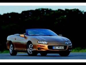 photo Chevrolet Camaro cabriolet  (mk4)
