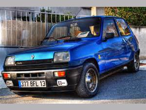 photo Renault R5 Alpine Turbo