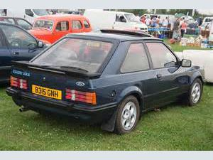 photo Ford Escort XR3i  (mk3)