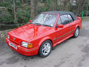photo Ford Escort cabriolet  (mk3)
