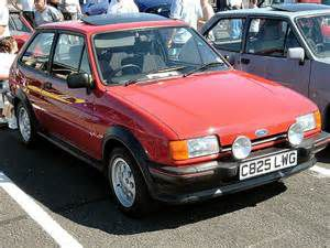 photo Ford Fiesta XR2  (mk2)