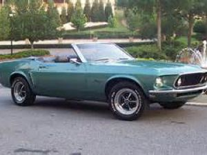photo Ford Mustang cabriolet  (mk1)