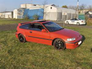 photo Honda Civic 4 CRX
