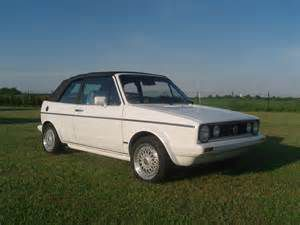 photo Volkswagen Golf cabriolet  (mk1)