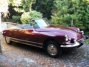photo Citroen DS cabriolet
