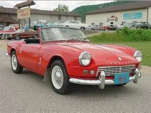 photo Triumph Spitfire  (mk1)