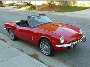 photo Triumph Spitfire  (mk3)