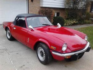 photo Triumph Spitfire  (mk4)