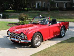 photo Triumph TR4
