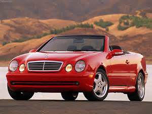 photo Mercedes CLK Cabriolet