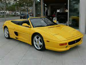 photo Ferrari F355 spider