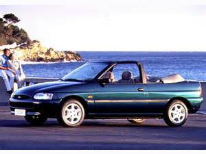 photo Ford Escort cabriolet  (mk4)