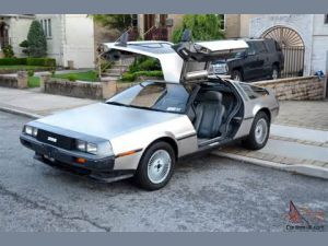 photo Delorean DMC12